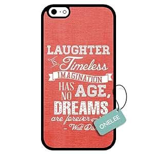 Onelee(TM) - Dreams Walt Disney Quote iPhone 6 Case & Cover - Custom Personalized iPhone 6 Case (TPU) - Black 10 WANGJING JINDA