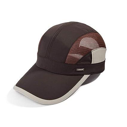 CQ Sombrero Hombre Marea de Verano Visera al Aire Libre Montar al Aire  Libre Gorra de. Pasa el ratón por encima de la imagen para ampliarla e4b1a380d6a