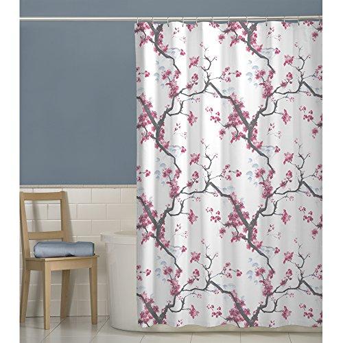 Amazon.com: Maytex Cherrywood Fabric Shower Curtain, 70 X 72 Inch , Floral:  Home U0026 Kitchen