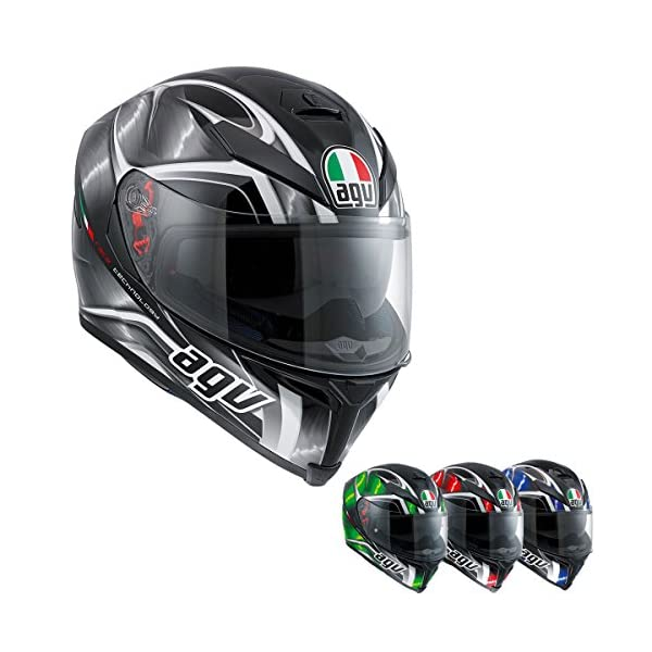 AGV K-5 Unisex-Adult Full-Face-Helmet-Style Hurricane Helmet 51iSVc 2B3GtL