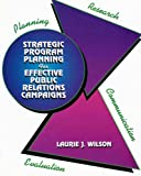 Strategic Program Planning, Wilson, Laurie, 0787215988