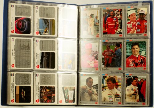 1991 - PPG Indy Car World Series - 100 Count Collector Card Set - 6 Autographed in Person - RARE - MINT - Out of Production - Collectible - Limited - Luyendyk Indy