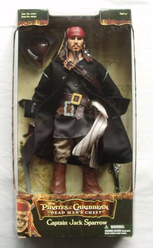 Captain Jack Sparrow 12 Inch Figure Pirates of the Caribbean by Pirates of the ()