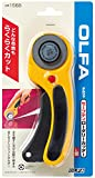 The maximum sharpness / Made in Japan /OLFA 45 mm tungsten steel Ergonomic Rotary Cutter & 45mm Rotary Blade Refill, 10-Pack Value Set