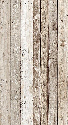 Livingwalls selbstklebendes Panel pop.up Panel 2,50 m x 0,35 m beige braun 942192