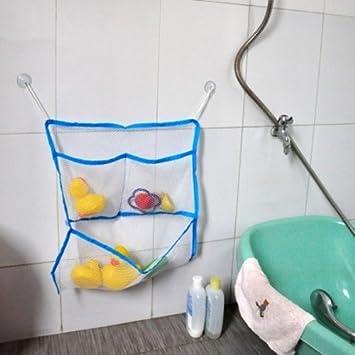 Amazoncom Baby Bath Bathtub Toy Mesh Storage Bag Organizer - Cleaning stuff for bathroom