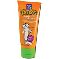Pack of 3 x Kiss My Face Kids Toothpaste with Fluoride Berry Smart - 4 oz