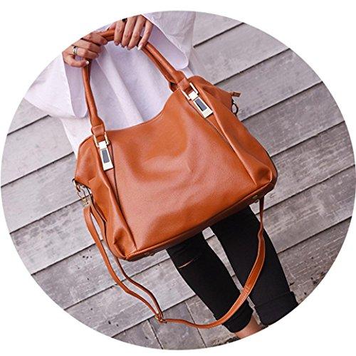 Rakkiss Capacity Brown Shopping Bags Women Handbag Bag Large Crossbody Tote Shoulder Handbag Bag Leather Bag rwrqRA7FI6