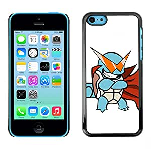 LECELL--Funda protectora / Cubierta / Piel For iPhone 5C -- Tortuga de Poke Monster --