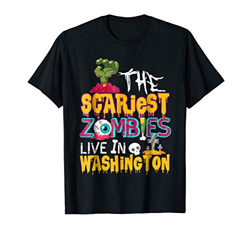 The Scariest Zombies Live In Washington DC Halloween