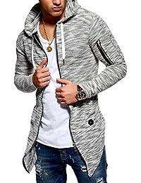 Men's Cardigan Sweater Jacket Oversize With Zipper MT-7532