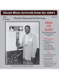 Classic Blues Artwork From The 1920s Calendar 2020
