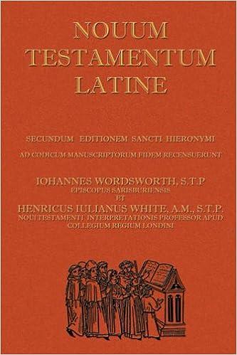Novum Testamentum Latine (Latin Vulgate New Testament, The