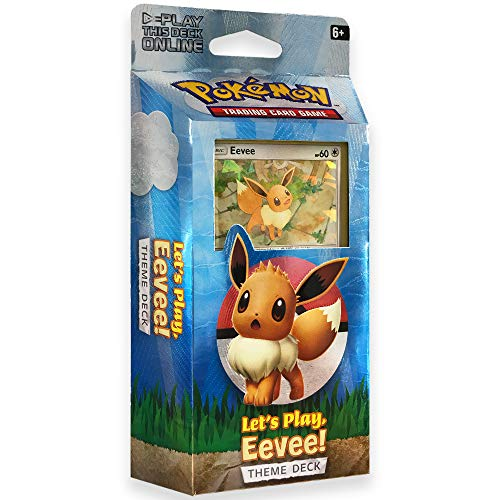 (Pokemon TCG: Let's Play Pikachu! Eevee Theme Deck)