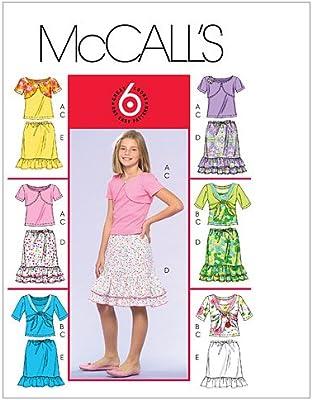 McCalls M5038 CH - Patrones de Costura para Confeccionar Blusa y ...