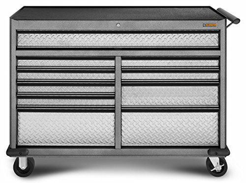Gladiator GarageWorks GATR5210WG Premier Series 10-Drawer 52-Inch Roll-Away by Gladiator