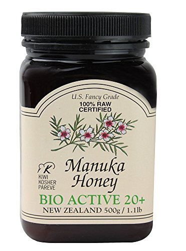 Manuka 20 + Bio Active, 1.1 Pound Jar