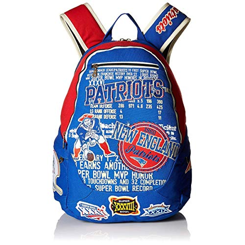 - Forever Collectibles NFL New England Patriots Backpack, Blue