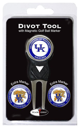 Ncaa Kentucky Wildcats Wildcat - NCAA Kentucky Wildcats Divot Tool Pack With 3 Golf Ball Markers