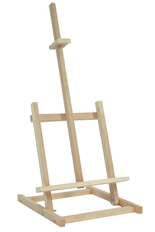 Caballete de madera de haya, atril para pintar, soporte para bocetos, mesa de