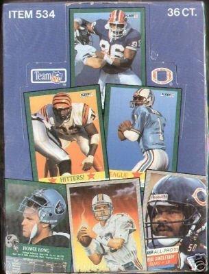 1991 Fleer Football - 1991 Fleer Football Cards Unopened Hobby Box