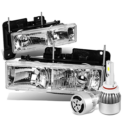 92 chevy 1500 hid headlights - 3