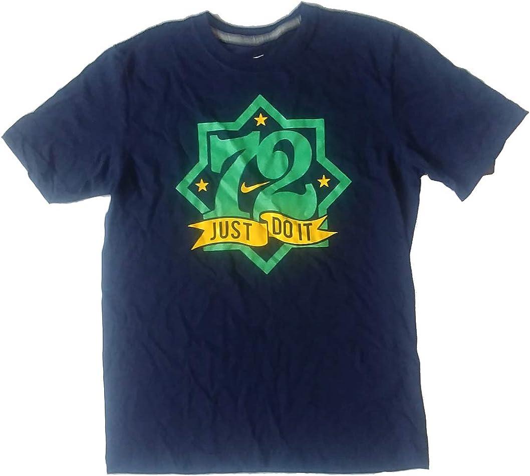 Día del Niño Elegancia Frotar  Nike Mens Just Do It 72 Graphic T-Shirt 599034 419 M Navy at Amazon Men's  Clothing store