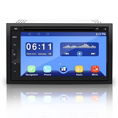 Pyle PLDAND697 Double Din Android Stereo Receiver System, 6.8 inches by Pyle