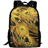 Markui Adult Travel Hiking Laptop Backpack Fantasy Artwork School Multipurpose Durable Daypacks Zipper Bags Fashion