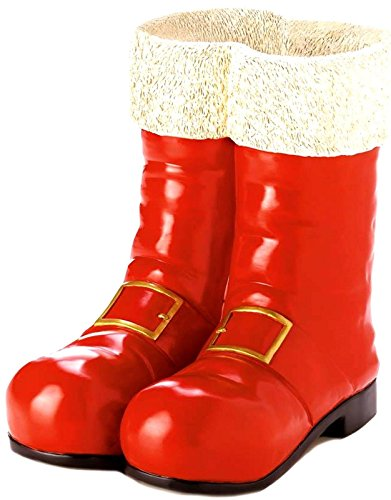 Cocky Halloween Costumes - Southwestern Cowboy Christmas SANTA RED BOOTS DECORATIVE VASE NIB,cowboys fan shirt calendar