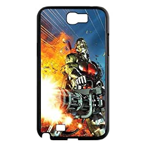 Deathlok Comic Samsung Galaxy N2 7100 Cell Phone Case Black Transparent Protective Back Cover 1002