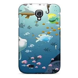 CEvGpHi5311xeeEs Dana Lindsey Mendez Fish Galore Durable Galaxy S4 Tpu Flexible Soft Case
