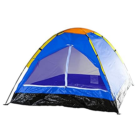 2-Person Dome Tent- Rain Fly & Carry Bag- Easy...