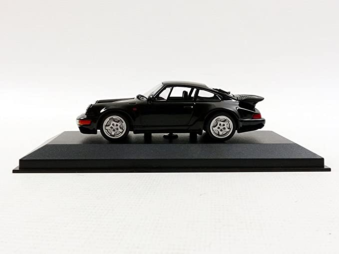 Amazon.com: Porsche 911 Turbo (964), black, 1990, Model Car, Ready-made, Maxichamps 1:43: Maxichamps: Toys & Games