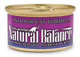 Natural Balance Canned Cat Food, Indoor Formula, 24 x 3 Ounce Pack, My Pet Supplies