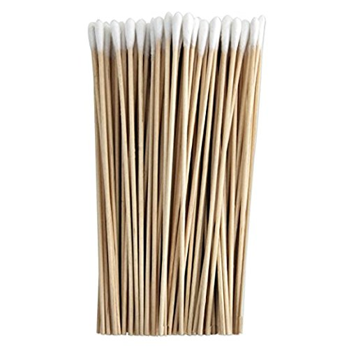 Cotton-Tipped Applicators 6 Inches, Wood - 1000EA/BX Bulk by Vetmed USA