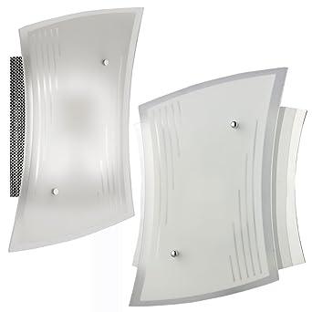 2er-Set Wandleuchte Wandlampe Energiesparend Lampe Bad Badezimmer ...