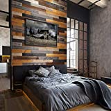 All Natural Real Solid Wood Accent Wall Planks
