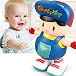 zest 4 toyz 360 degree rotating musical dancing girl doll activity play center toy with flashing lights and bump and go…