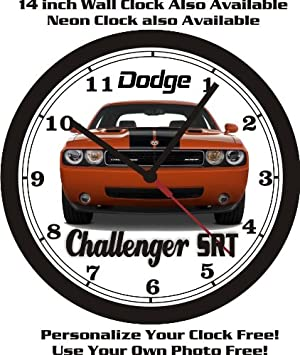 2009-2014 DODGE CHALLENGER SRT WALL CLOCK-FREE USA SHIP