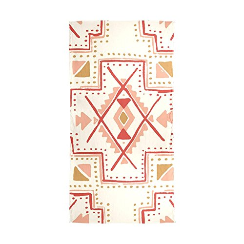 Scarfs for Women Mexican Africa Art Vintage Lightweight Fashion Long Shawl Wraps by Pingshoes