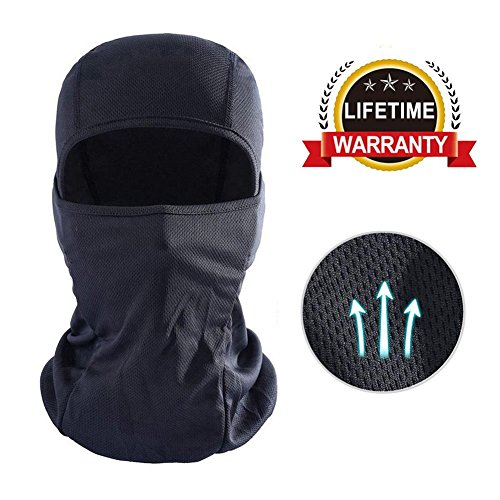 DUWOEXT Balaclava Breathable Motorcycle Face Mask Lightweight Adjustable Full Face Mask for Skiing, Cycling, Running, Fishing, Outdoor Tactical coaching, Wind Dust Pollution Rain Sun Protection – DiZiSports Store
