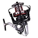 Saltwater Spinning Reel, Aluminum CNC Big Spool Handle Fishing Reel with Dual Bearing System, 10+1 Stainless Steel Bearings, 4.7:1 Gear Ratio for Offshore Sea Surf Boat Outdoor Sport Fishing