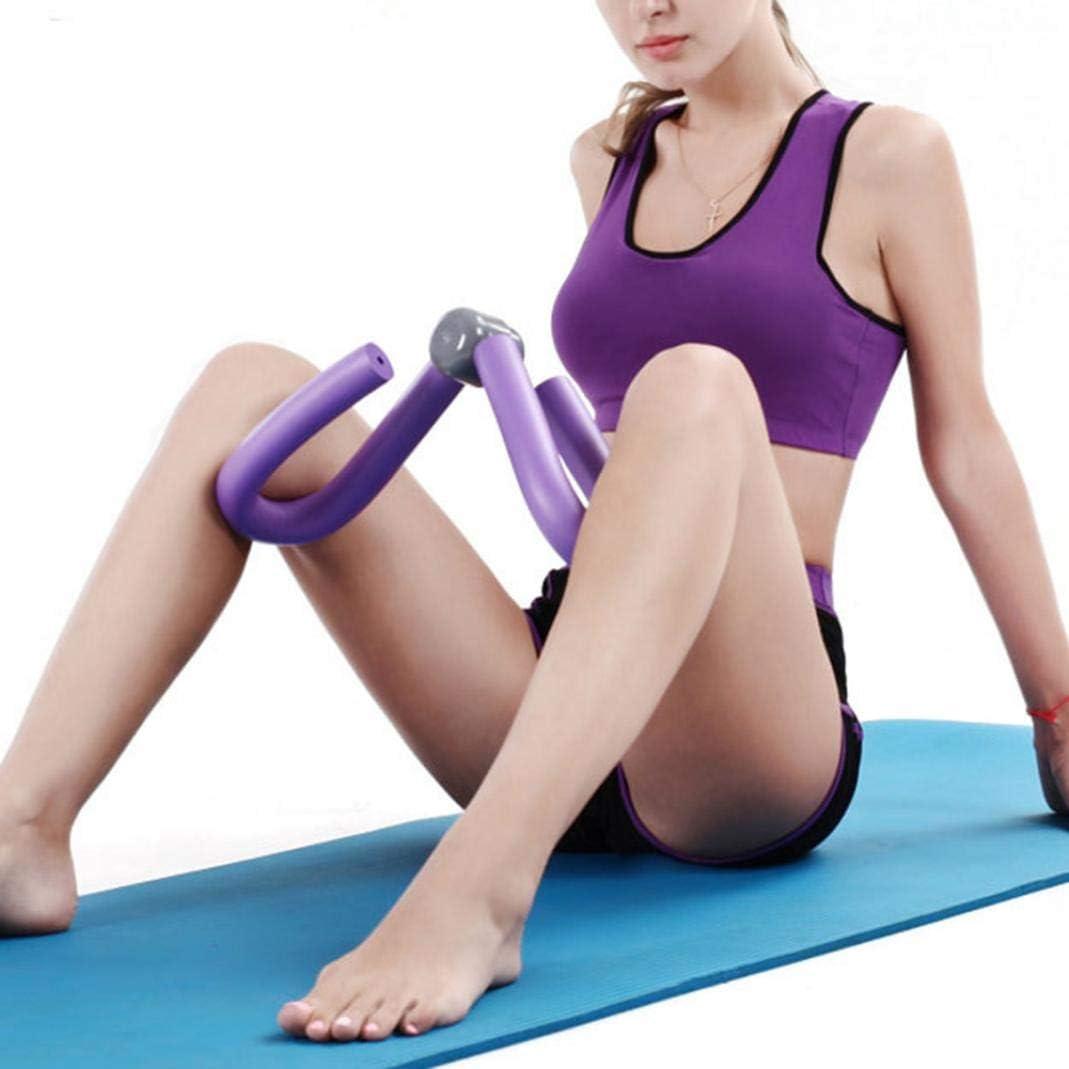 Grey YSHTAN Thigh Master Other Fitness Equipment Thigh Master Home Thigh Master Leg Arm Slim Exercise Equipment Leg Strength Training Device