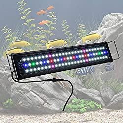 "Yescom 24"" Multi-Color 78 LED Aquarium Light for 24-30inches Freshwater Saltwater Fish Tank Lamp"