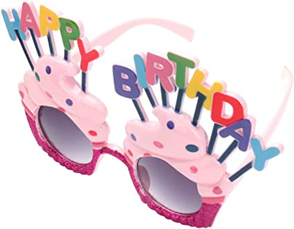 Amazon.com: OULII Feliz cumpleaños anteojos de sol Sweet ...