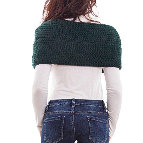 Femme Femme Femme Toocool Poncho Poncho Toocool Poncho Vert Vert Toocool d8pnwTq