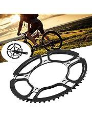 Hollow Crankset, Bike Conversion Accessory, 130MMBCD Bike Crankset, Bicycle Crankset, for Bicycle Bike(black)