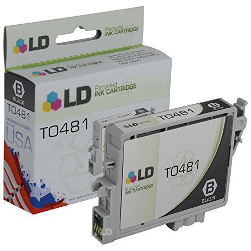 LD Products Remanufactured Ink Cartridge Replacement for Epson T0481 ( Black )