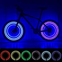 MAGINOVO 2 Pack Led Bike Wheel Light | Waterproof Bicycle...
